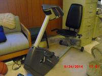 PRO-FORM GR 80 recumbent exercise bike with digital