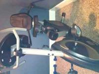 Everlast E74R recumbent exercise bike for sale ()