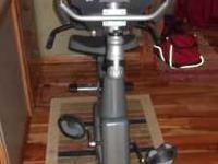 Champion Recumbent Exercise Bike. It's in perfect