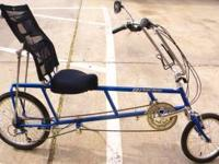 A Recumbent EZ-1 Super Cruzer bicycle like brand new