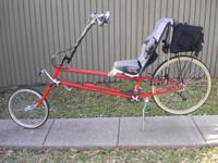 EXTREMELY HIGH QUALITY, THIS CUSTOM RECUMBENT WAS HAND