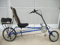 RANS-WAVE RECUMBENT BIKE LAST OF MODEL MADE BY
