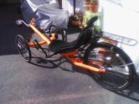 FOR SALE 2014 Performer Trike X recumbent trike. Has