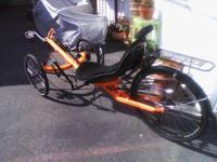 FOR SALE 2014 Performer Trike X recumbent trike. Has