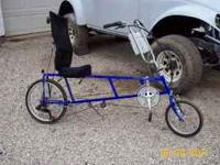 very nice recumbrent ez-1 rz made by sun. has new water
