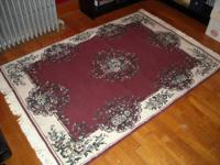 Natural recycled felt rug pads made in the USA without