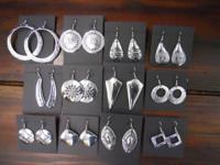 Locally-Made Recycled Aluminum Jewelry. Appears like