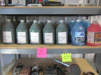 Recycled Antifreeze - $4.00 / gallon ($1 refund if you