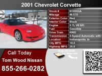 Call Tom Wood Nissan at  Stock #: N18563A Year: 2001