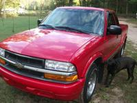 Nice condition 2001 Chevy S10 for sell. Daughter