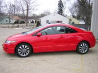 Red and ready!!! Like new 2009 Honda Civic EX coupe