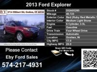 Call Eby Ford Sales at  Stock #: DGA05285 Year: 2013
