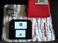 Red 2DS in mint condition! Includes original stylus, 4G