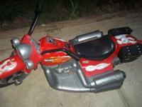 I have 2 Red Harley Davisons , I am selling one you can