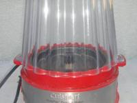 Have a cuisinart red popcorn maker. In great working