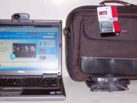 Red Dell Latitude Laptop with Windows 7, Webcam,