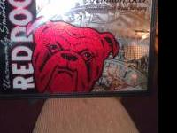 I have a red dog beer mirror for sale excellent