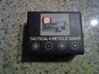 I have a like new red dot sight with initial box and