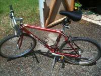 Red Giant Bike. Aluminum frame. Gel Seat. Comes with a