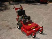 "36"" Walk-Behind mower. Low low hours, 15 HP Kohler"