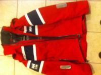 Red helly Hansen jacket Asking $100 Size medium