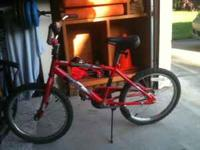 For sale! Red boys bike in great condition! One owner.