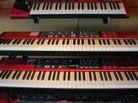 I am proud to offer some of my very nice red key boards