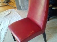 Genuine leather dining chairs - Update your home decor