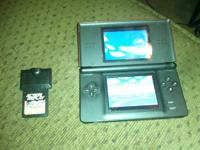 red ds,works fine just don't play it,comes with zelda