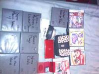 Selling a Red Nintendo DS Lite with 6 games for Game