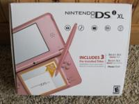 I have a Nintendo DSI XL that is in superb health
