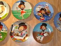 Red Skelton Collector Plates (Kissimmee) Red Skelton