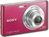 i have a red sony 14.1 megapixels cam for sale..its