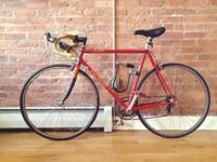 Red Specialized brand 6 speed bike + with finger