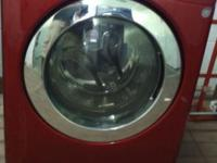 We have red LG washer good condition with 3 months