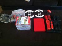 I have a Nintendo wii red for sale. It's in great