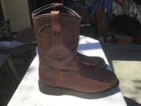 Red Wing Brown Boots New size 10  $150 This ad was