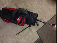 Red Zone Junior Golf Set with Stand Bag (Ages 8-11)also