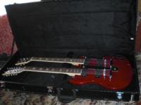 BRAND NEW.......Custom double neck SG style electric