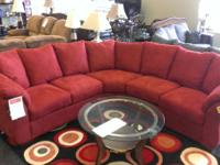 Red Sectional Regulary $999.99. Save $300!!!! Also