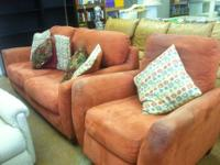 Red Sofa With Recliner $99 Chabad Thrift Store Non
