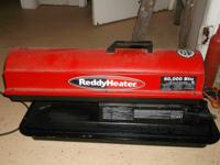 Reddy Heater be ready for the winter in excellent