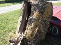 REDHead Layout hunting blind.  folds and back pack.