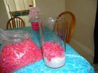 We have 3 or 4 bags of redish/pink stones. These are