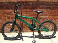 This is a great old-school Redline BMX bike from the