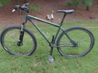 I'm offering my Redline Monocog singlespeed (or single