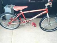I'm selling a late 80s early 90s redline rl340 race/bmx