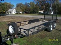 Custom built Utv/Atv Heavy Duty Pull Trailer. This