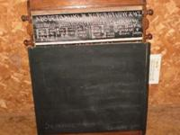 This writing desk / drawing board was by the Power