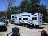 07 weekend warrior sl 3005 5th wheel toy hauler,best